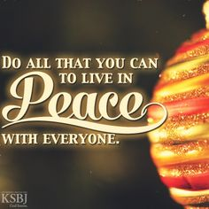 Do all that you can to live in peace with everyone. Romans by limeyey Life Verses, Christian Posters, Give Peace A Chance, Romans 12, Never Stop Learning, Inspirational Posters, World Peace, Bible Scriptures, Motivation