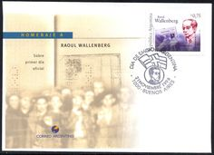 Honouring Raoul Wallenberg on Argentina FDC