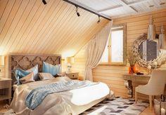 Спальня на мансарде | Мебель для спални