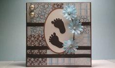 Baby Boy Baby Shower Card - Scrapbook.com