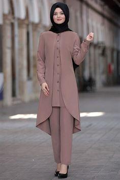 Modest Fashion Hijab, Abaya Fashion, Fashion Outfits, Muslim Women Fashion, Islamic Fashion, Mode Abaya, Mode Hijab, Maharishi Ayurveda, Stylish Dress Designs