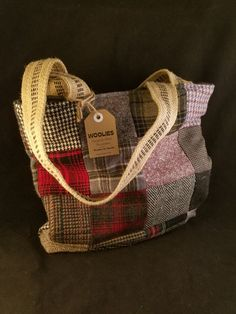 Hey, I found this really awesome Etsy listing at https://www.etsy.com/listing/503094529/patchwork-wool-tote