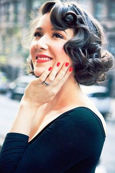vintage hairstyles for very short hair