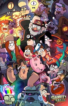Gravity falls wallpaper cc @wlhartwig