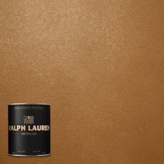 Ralph Lauren, 1-qt. Burnished Copper Metallic Specialty Finish Interior Paint, ME139-04 at The Home Depot - Mobile