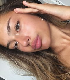 """""""You don't have to remind someone that they look way better without makeup e. Glowy Makeup, Glowy Skin, Flawless Skin, Natural Makeup, Beauty Makeup, Hair Beauty, Without Makeup, Aesthetic Makeup, All Things Beauty"""
