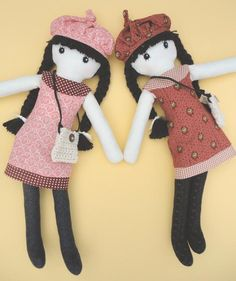 Lisa - Cloth Rag Doll pattern