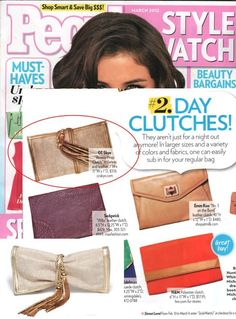 (March 2012) People StyleWatch: The Riviera Wrap Clutch
