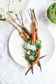 Carrots with Yogurt