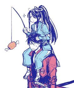 Drifters #Anime #Manga Toyohisa Shimazu and Nasu no Yoichi
