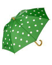 Love, love the color, love the polka dots