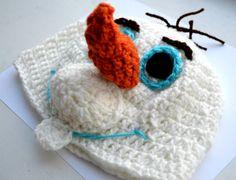 Disney 's Frozen Olaf Hat Instant Download pdf Hat by SpearCraft, $3.99