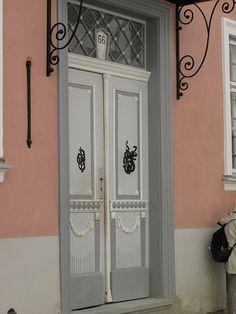 Door in Tallinn Old Town, Estonia   by Sheetha