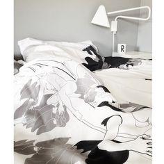 Adam & Eva bedding at home @fruenfratrondheim #funkle
