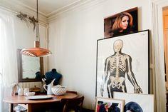 Freunde von Freunden — Nicolas Ouchenir — Calligrapher, Apartment, Office & Neighborhood, 10th Arrondissement & 1st Arrondissement, Paris — http://www.freundevonfreunden.com/interviews/nicolas-ouchenir/