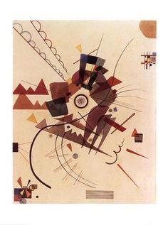 Painter Wassily Kandinsky. Painting. All around. 1925 year