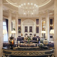 Luxury lifestyle, glamour & sophistication mansion interior, home interior, luxury interior design, Mansion Interior, Luxury Homes Interior, Luxury Home Decor, Room Interior, Modern Interior, Interior Architecture, Style At Home, Luxury Living, Home Fashion