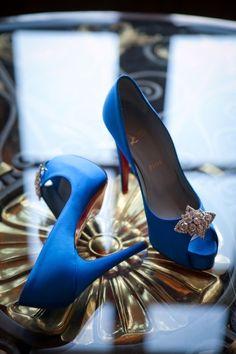 Sapatos Boneca Barbie I Love Lucy Boneca episódio 50 Salto Alto Azul Fechado Toe Pumps