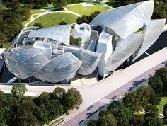 La fundación Louis Vuitton de Frank Gehry and partners, Bois de Boulogne, Paris