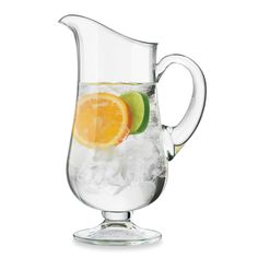 Dailyware™ Glass 76-Ounce Footed Pitcher
