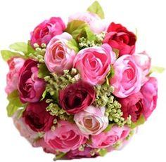 Engerla Wedding Bouquet Artificial Peony Flowers Home Decoration