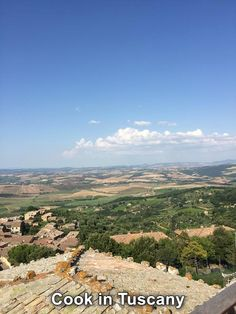 View from Montalcino  www.cookintuscany.com   #tuscany #montefollonico #cookintuscany #Italy #cookingschool #culinary #cooking #school #montepulciano #cookery #cucina #travel #tour #trip #vacation #pienza #cook #tuscan #cortona #allinclusive