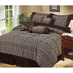 images about Bedding on Pinterest Brown comforter