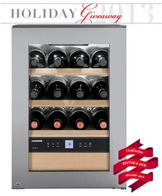 Win a Liebherr WS 1200 Wine Refrigerator Holiday Giveaway from The Kitchn | The Kitchn Hurry! Ends 12/23/13 at 8 AM