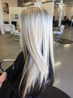 Ice blonde. Xostylistxo