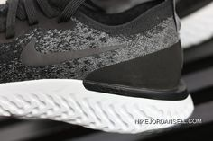 6811ebeb0d1a Pure Original Nike Epic React Flyknit Foamposite Particles Woven Running  Shoes AQ0067-001 Type Shoes