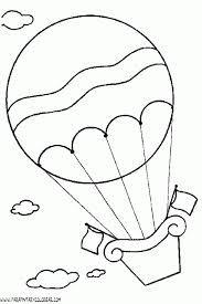 Un globo aerosttico  dibujos  Pinterest  Silhouettes