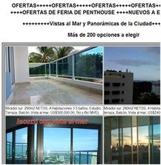Ofertas de Penthouses Nuevos en la Ciudad con Excelente Vista - 809-605-1170 -