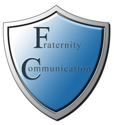 Logo for the blog Fraternity Communication, which aims to promote a positive image of fraternities & sororities.
