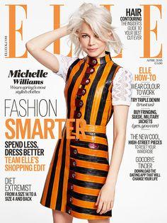 Elle UK April 2015 | Michelle Williams by Kerry Hallihan