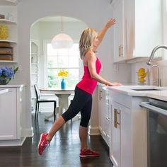 Try these 4 fat-burning barre exercises at home | Health.com