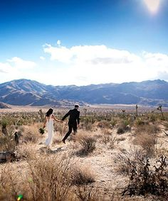 Why getting married in the desert was the easiest decision this couple made