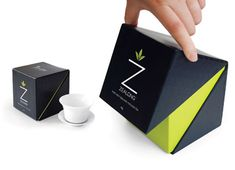 Black & Green Package Design