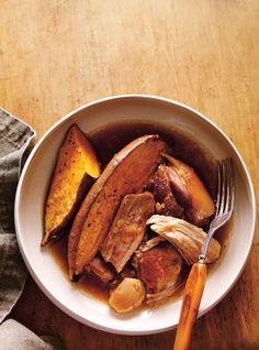 Recette de porc à l'érable et à l'ail rôti