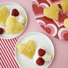 Puff Pastry Berry Hearts — Punchfork