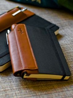 Keeping a pen with your pocket notebook can be an issue. Not anymore.