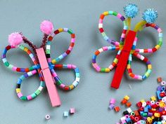 Quick Crafts, Dyi Crafts, Paper Crafts, Diy For Kids, Crafts For Kids, Arts And Crafts, Crafty Kids, Make Design, Creative Kids