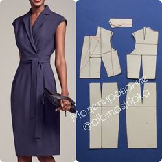 54 Ideas Sewing Dress Patterns Dressmaking For 2019 Sewing Dress, Dress Sewing Patterns, Sewing Clothes, Clothing Patterns, Diy Clothes, Pattern Dress, Fashion Sewing, Diy Fashion, Moda Fashion