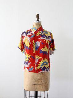 1940s Hawaiian Shirt