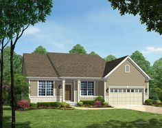TBB Geneva II #13045897 - SMART RANCH PLAN by Payne Family Homes! The Geneva II model offers 2 bdrm, 2 bath, and over 1,700 square feet of living space.
