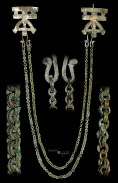 Rare 9th-10th century Viking jewelry.