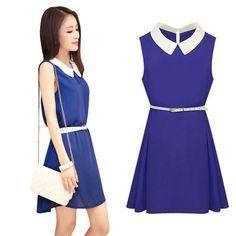 Aliexpress.com  Comprar Mini vestido sin mangas del verano 2240e698e2cc