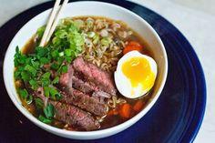 Ali à la mode: Beef Ramen Noodle Soup