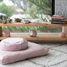 Meditation Cushions - Pale Pink