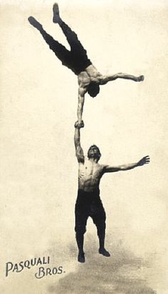 The Pasquali Bros. (late 19th century acrobats from Belfast)
