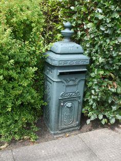 old copper mailbox amstelveen netherlands